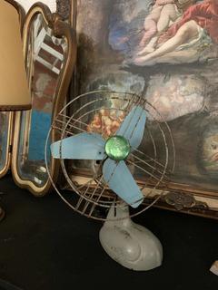 Ventilador Antiguo Vintage Eslabón De Lujo