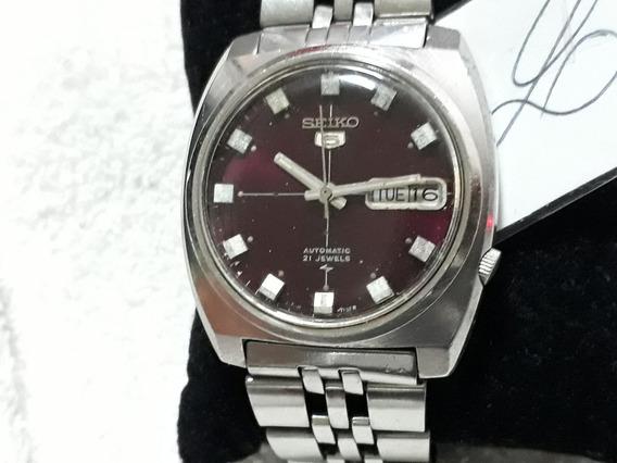 Relógio Seiko 7019 Masculino, Automático - Lindo, Anos 70 (vnh)