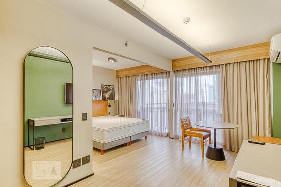 Apartamento Para Aluguel - Itaim Bibi, 1 Quarto, 38 - 893090875