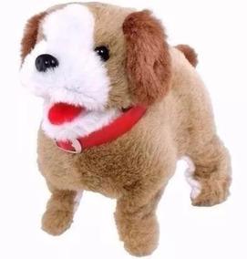 Cachorro Cachorrinho Pula E Anda Brinquedo Pilha Cambalhota