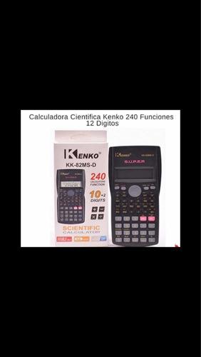 Calculadora Científica Kenko 12digitos 240 Funciones