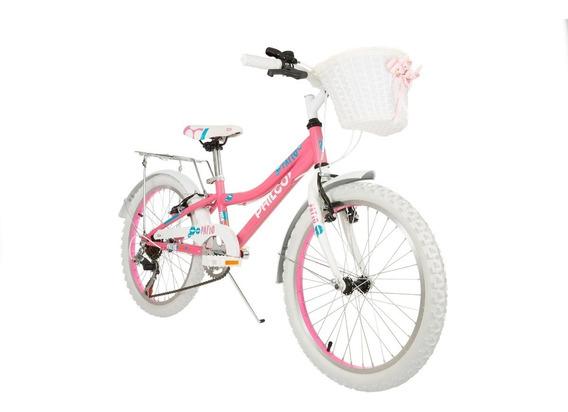 Bicicleta Philco De Niña Patio Rodado 20 6v