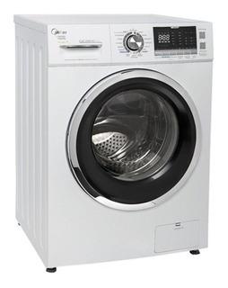 Lavadora e secadora de roupas automática Midea Storm Wash LSD12 branca 12kg 127V