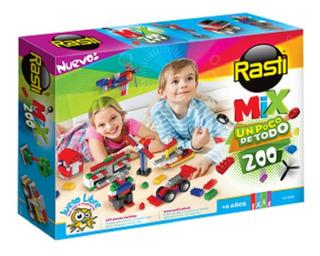 Bloques Rasti Mix 200 Piezas 01-1058 Construccion Educando