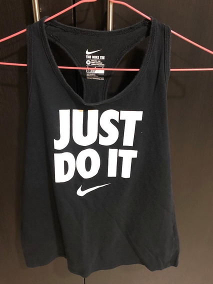Camiseta Mujer Gimnasio Marca Nike Dri-fit Talla M