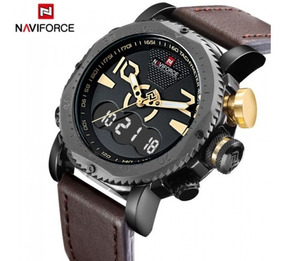 Relógio Masculino Naviforce Nf9094m Digital Analógico