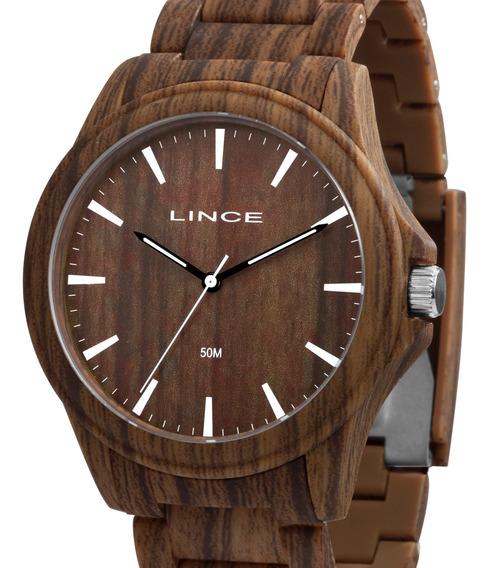 Relógio Lince Masculino Amadeirado - Mrp4613p N1nx