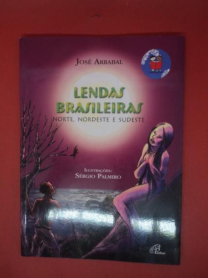 Livro Lendas Brasileiras Norte, Nordeste E Sudeste