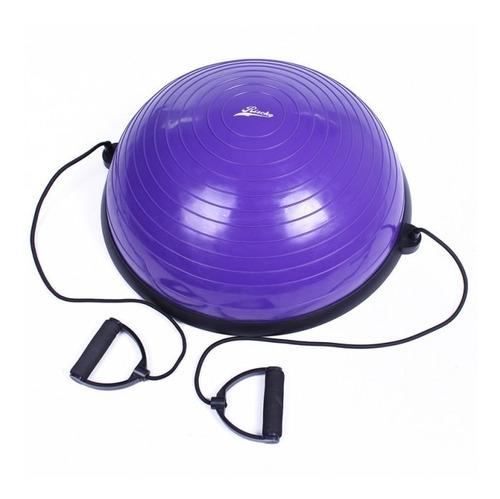Pelota Bosu Medio Balon Con Manillas Yoga Pilate / Lhua