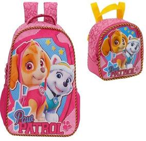 Kit Mochila+lancheira Patrulha Canina Team Skye Girl G-7982