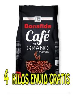 Cafe 100 % Tostado Expresso 2 Uni X 1 Kg - Bonafide Oficial