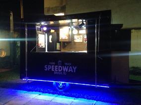 Food Truck(trailer) 2x3m-pronto Para Trabalhar