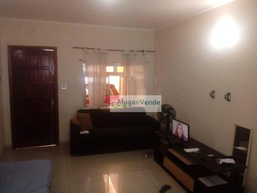 Imagem 1 de 12 de Casa Com 2 Dormitórios 1 Vaga De Garagem À Venda Na Vila Augusta , 90 M² Por R$ 320.000 - Vila Augusta - Guarulhos/sp - Ca0003