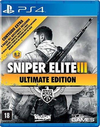 Jogo Ps4 Sniper Elite 3