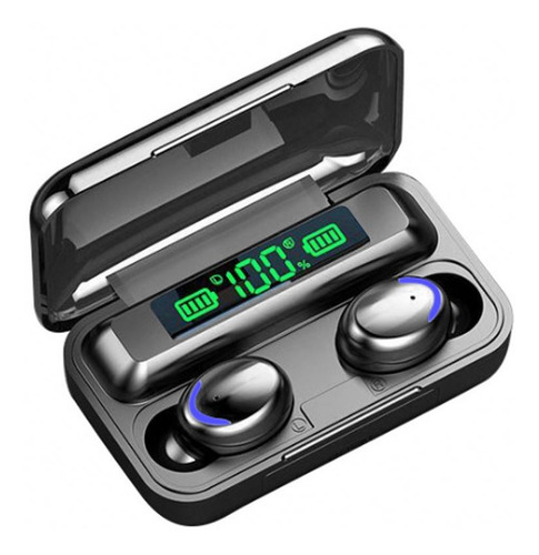 Auricular Inalámbrico Bluetooth Touch Tactil Power Bank F9