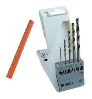 Set De Mechas Metal 2-3-4-5-6 Bosch Hexagonal + Regalo