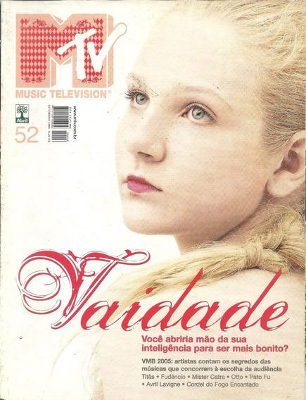 Revista Mtv N 52-paulo Ricardo,ultraje A Rigor,titas,pato Fu