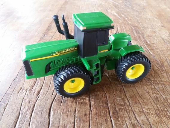 Brinquedo Em Miniatura Trator John Deere Ertl Articulado