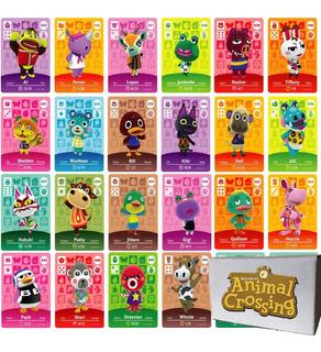 20 Tarjetas Nfc Amiibo - Animal Crossing + Empaque Oficial