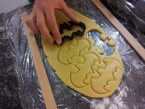 Cortadores De Plástico 12 Peças Biscuit Confeitaria Vazado