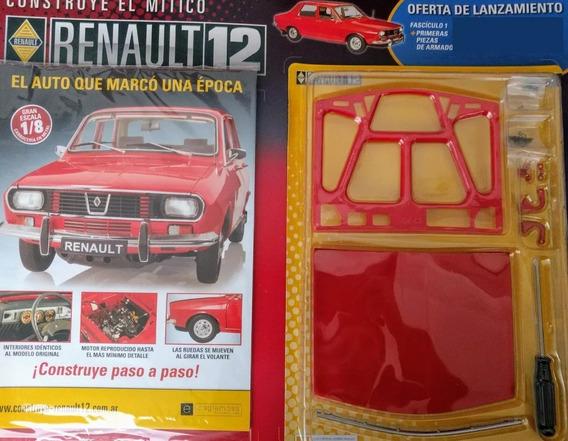 Renault 12 Para Armar - Eaglemoss - Numero 1