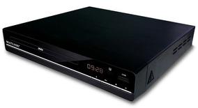 Dvd Player 3 Em 1 Multimídia Cd Dvd Usb Mp3 Multilaser Sp252