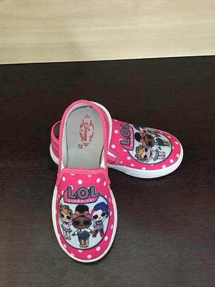 Tenis Infantil Lol Surprise Calçados Kids Sapatinho Crianças