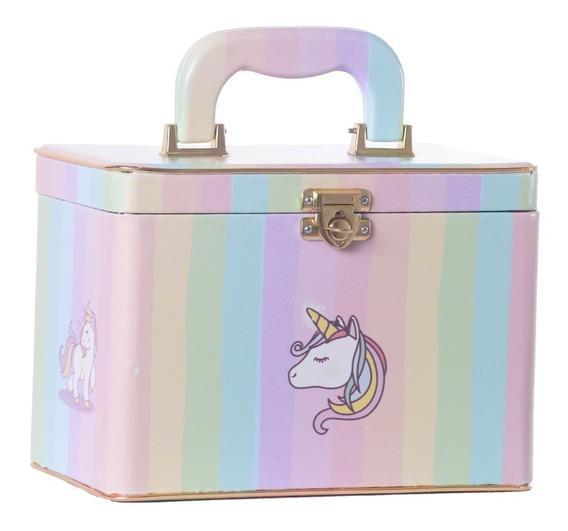 Caixa Box Unicórnio 4 Álbuns Fotográficos 15x21 - 240 Fotos
