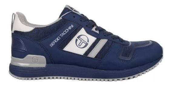 Sergio Tacchini Zapatillas Hombre 507 / 8735 Azul Gris Dxt