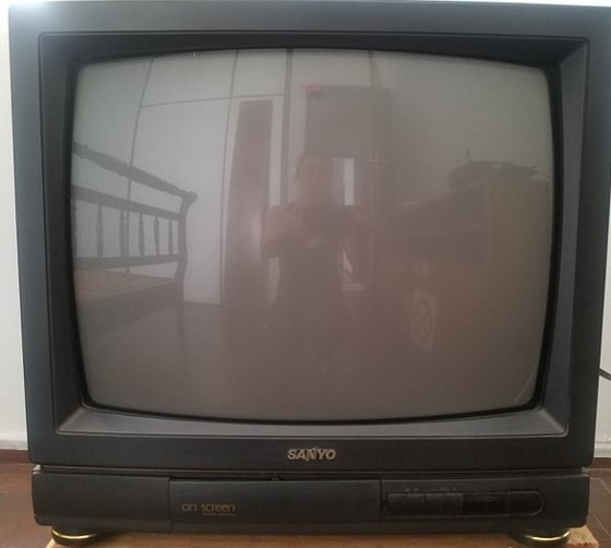 Tv Tubo 21p Sanyo Mod On Screen Remote Control Televisor