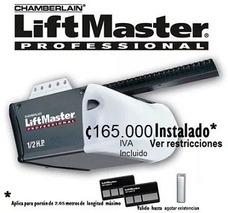 Motor Porton Electrico Liftmaster 165.000 Instalado Iva Incl
