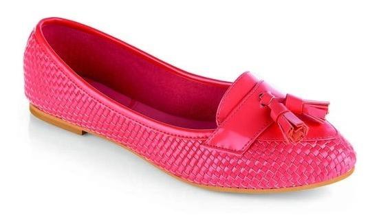 Zapatos Valerina Para Dama Casual Rosa 013059