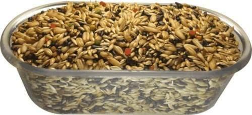 Mistura De Canário 10kg + 10kg De Ração Para Pintassilgo