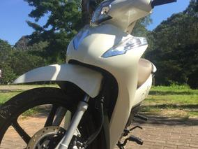 Honda Biz Branca Top De Linha