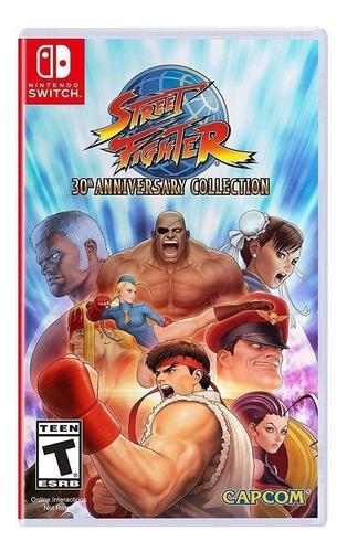 Imagen 1 de 5 de Street Fighter 30th Anniversary Collection Standard Edition Capcom Nintendo Switch  Físico