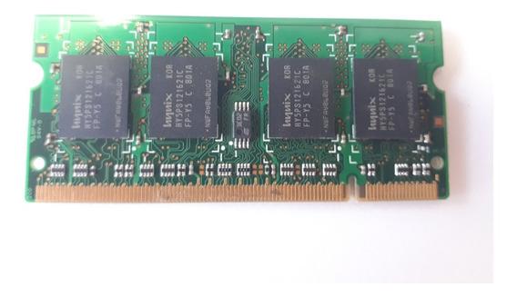 Memoria Hynix Ddr2 667mhz 512m Pc2-5300s Usado Original Note