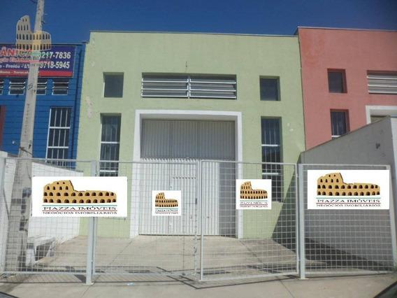 Barracão À Venda, 307 M² Por R$ 650.000 - Jardim Piazza Di Roma I - Sorocaba/sp - Ba0020