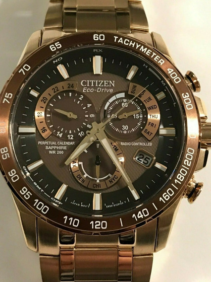 Relógio Citizen Eco-drive Perpetual Atomic At4106-52x