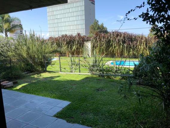 Depto Planta Baja Con Jardin Av Americas