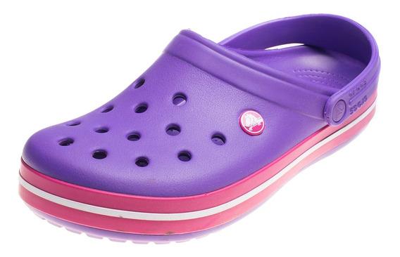 Zueco Crocs Crocband Violeta