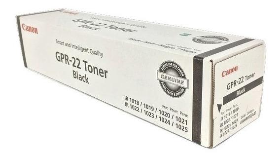 Toner Canon Gpr-22 Original E Lacrado Black 0386b003aa