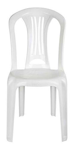 Cadeira Plástica Bistrô Suporta Até 182 Kg Mor
