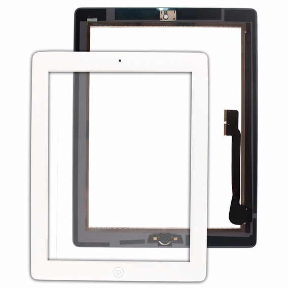 Tela Vidro Touch iPad 4 A1458 A1459 + Home + Adesivo