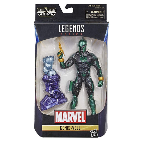 Marvel Legends Captain Marvel Genis-vell Baf