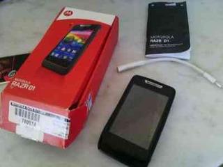 Motorola Razr D1, Libre, Nuevo En Caja 3 Meses Garantia
