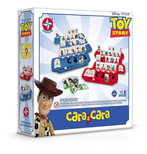 Jogo Cara A Cara Toy Story