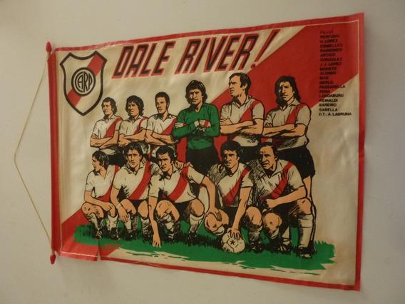 Mdp - Antigua Bandera De River Plate 1975