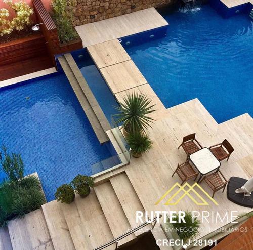 Imagem 1 de 15 de Apartamento Em Moema, Com 4 Dormitórios Mobiliados, 273 M². - 1100