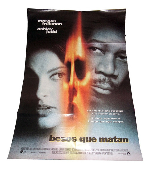 Besos Que Matan Poster Doblado De Cine