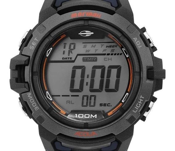 Relógio Mormaii Wave Masculino Digital Mo1147a/8a Garantia